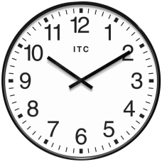 Infinity Instruments Round Wall Clock 19