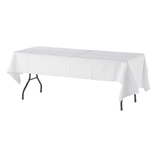 Tatco White Paper Table Covers 54