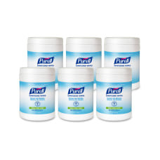 Purell Citrus Hand Sanitizing Wipes 6
