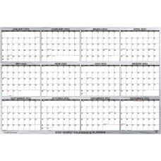 SwiftGlimpse Designer Yearly Wall Calendar 24