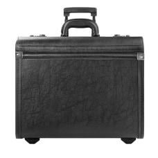 Solo Lincoln Rolling Catalog Case Black