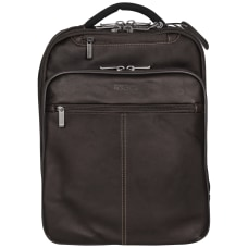 Kenneth Cole Reaction Leather Laptop Backpack