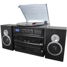 Trexonic 3 Speed Vinyl Turntable Home