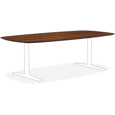 Lorell Knife Edge Rectangular Conference Table