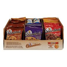 Grandmas Cookies Variety Pack Box Of