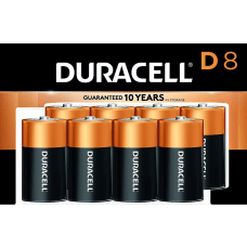 Duracell Coppertop D Batteries Pack Of