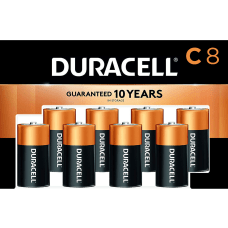 Duracell Coppertop C Batteries Pack Of
