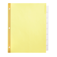Office Depot Brand Insertable Tab Dividers