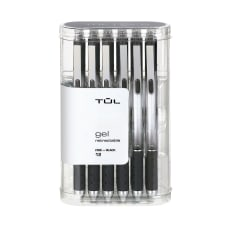 TUL Retractable Gel Pens Fine Point