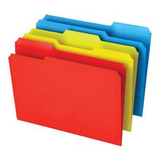 Office Depot Brand Poly File Folders