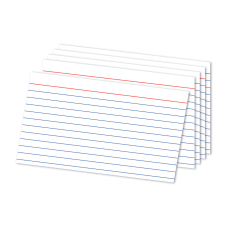 Office Depot Brand Ruled Index Cards