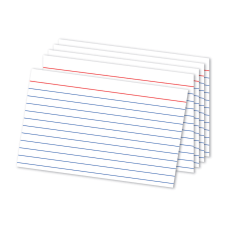 Office Depot Brand Ruled Index Card
