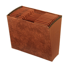Office Depot Faux Leather Expanding File