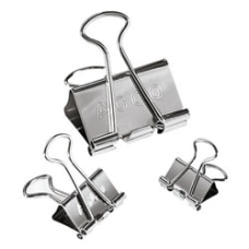 ACCO Presentation Binder Clips Silver Pack