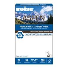 Boise ASPEN Laser Paper Ledger Size
