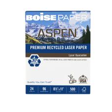 Boise ASPEN Laser Paper Letter Size
