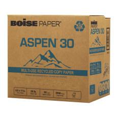 Boise ASPEN 30 SPLOX Paper Speed