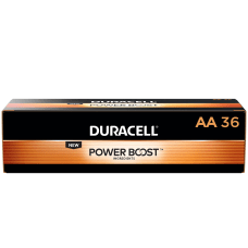 Duracell Coppertop Alkaline AA Batteries Box