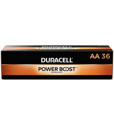 Duracell Coppertop Alkaline AA Batteries Box
