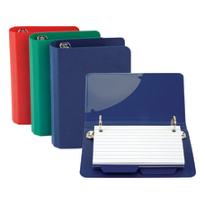 Oxford Index Card File Binder 50