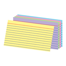 Office Depot Brand Ruled Rainbow Index