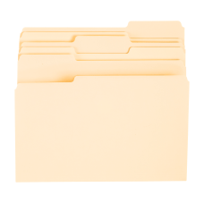 Office Depot File Folders 13 Tab
