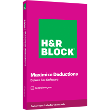 H R Block Deluxe 2020 Tax