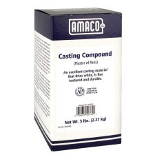AMACO Plaster Of Paris Casting Compound