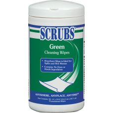 SCRUBS Green Cleaning Wipes Wipe Citrus