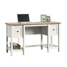 Sauder Cottage Road Desk Soft White
