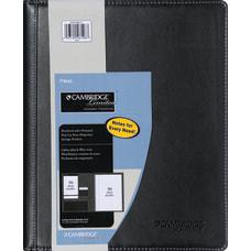 Cambridge Notetaker Refillable Notebook 8 12