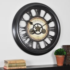FirsTime Gear Works Round Wall Clock