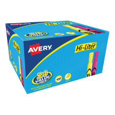 Avery Hi Liter Desk Style Highlighters