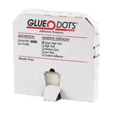 Glue Dots 12 High Tack Medium
