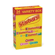 Starburst Variety Box Pack Of 34