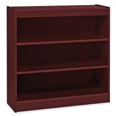 Lorell Veneer Bookcase 3 Shelf 36