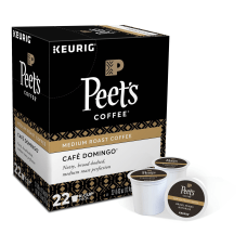 Peets Coffee Cafe Domingo Single Serve