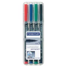 Staedtler Lumocolor Permanent Markers Fine Point