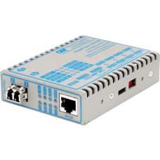 FlexPoint 10100 Ethernet Fiber Media Converter