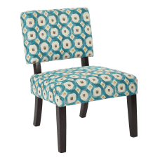 Ave Six Jasmine Accent Chair Geo