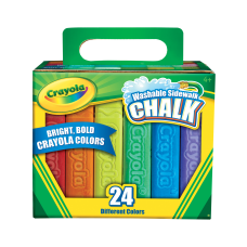 Crayola Washable Sidewalk Chalk 4 Length