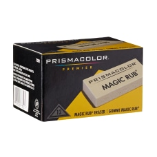 Prismacolor Magic Rub Vinyl Erasers White