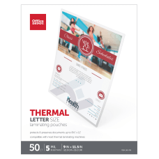 Office Depot Brand Laminating Pouches Letter