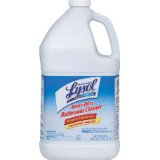 Lysol Professional Disinfectant Heavy Duty Bathroom
