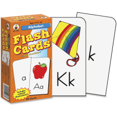 Carson Dellosa Flash Cards Alphabet