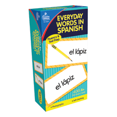 Carson Dellosa Everyday Words In Spanish
