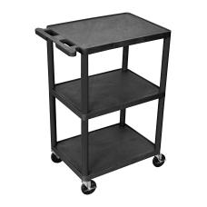 Luxor 3 Shelf Cart 41 H
