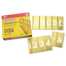 Brass Stencil Letter Number Sets Brass
