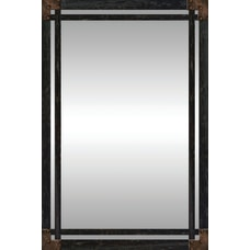 PTM Images Framed Mirror Wrought Iron