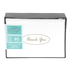 Gartner Studios Thank You Cards Gold